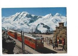 21474 - Zermatt Station Gornergrat Liskamm Castor Pollux Train (format 10 X 15) - VS Valais