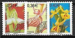 France 2007 Préoblitérés N° 250/252 Neufs Orchidées à 20% De La Cote - Préoblitérés