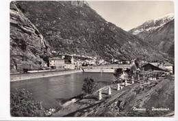 Italy, Donnaz, Panorama, 1957 Used Real Photo, Vera Fotografia,  Postcard [22852] - Italy