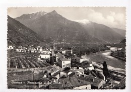 Italy, Donnaz, Panorama E La Dora, Used Real Photo, Vera Fotografia, Postcard [22853] - Italy