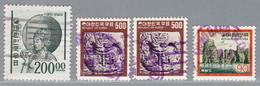 Korea-Süd, MiNr. 498, 1138, 1193 Gestempel; A-2624 - Corée Du Sud