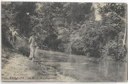 13. AUBAGNE.   LES BORDS DE L HUVEAUNE - Aubagne