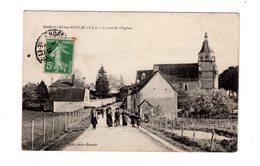 CPA 28 - Marolles Les Buis ( E Et L ) - La Rue De L'eglise - France