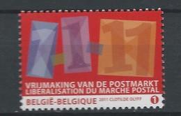 4089 Eenmaking Van De Postmarkt POSTFRIS** 2011 - Neufs