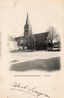 CP- BOURBON L'ARCHAMBAULT-   L' Eglise- - Bourbon L'Archambault