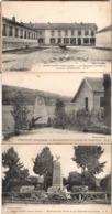 Hericourt - Quartier 47e Regiment D Artillerie Militaire Cantine Monument Aux Morts - Andere Gemeenten