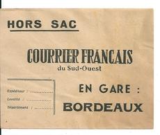 """Lettre Hors Sac  """" Courrier Français """" - France"""