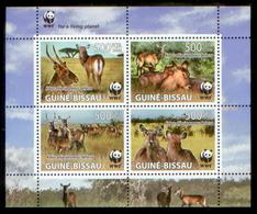GUINEA BISSAU 2008 - WWF Antelope 1 Set - YT 2646-9, Mi 3919-22 - W.W.F.