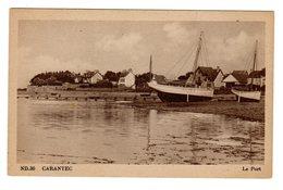 CPSM Carantec 29 Finistère Bateaux De Pêche Dans Le Port éditeur ND N°30 - Carantec