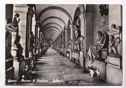 Genova, Genoa, Cimitero Di Staglieno, Galleria, Unused Real Photo, Vera Fotografia Postcard [22857] - Genova (Genoa)