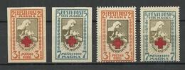 Estonia 1921/22 Michel 29 - 30 A + 29 - 30 B MNH - Estonie