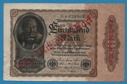 DEUTSCHES REICH  1 Milliarde Mark15.12.1922Serie # 14B.829902   KM# 113a - 1918-1933: Weimarer Republik