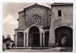 Chiesa Di Fontecolombo, Rieti, Con Ingresso Al Convento E Al Santuario, Unused Vera Fotografia Postcard [22859] - Rieti