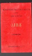 Aire Sur L'Adour (40 Landes ) Carte Du Ministère De L'intérieur 1893...  1/100.000e   (PPP17136) - Cartes Topographiques