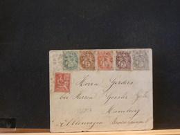82/857  LETTRE ALLEMAGNE  1901 - 1900-29 Blanc
