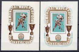 USSR - Michel - 1973 - BL 84 + 87 - MNH** - 1923-1991 USSR
