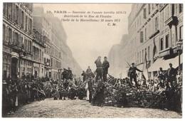 Paris - Souvenir De L'année Terrible 1870-71 Barricade De La Rue De Flandre - Autres