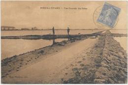13. BERRE L ETANG.  VUE GENERALE DES SALINS - France