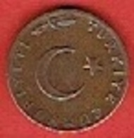 TURKEY  # 5 Kuruş  FROM 1968 - Turquie