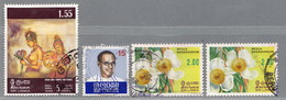 Sri Lanka (Ceylon), MiNr. 436, 438, 577 Gestempelt; A-2631 - Sri Lanka (Ceylon) (1948-...)