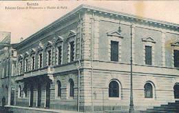 FAENZA  - PALAZZO CASSA DI RISPARMIO  E MONTE DI  PIETA -  1939 - Faenza