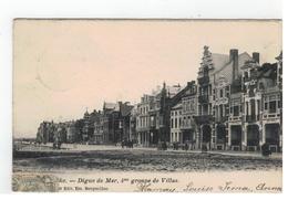 Middelkerke - Digue De Mer,4 Me Groupe De Villas - Middelkerke