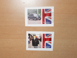 London Black Cab, Taxi, Bobby, Metropolitan Police - Universal Mail Stamps