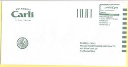 ITALIA - ITALY - ITALIE - 2019 - Posta4Pro - Fratelli Carli - Busta Preaffrancata - Not Used - 2011-...: Storia Postale
