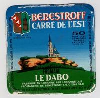 étiquette De Fromage - Carré De L'Est BENESTROFF - Le Dabo Moselle - Cheese