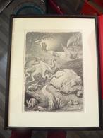 L'ARCHE DE NOE - CHARLES LEANDRE – 1917 - LITHOGRAPHIE - Lithographies