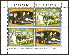 Cook Islands 1995 Yvertn° 1132-1133  *** MNH 2 Séries En Bloc Cote 44,00 Euro - Cook