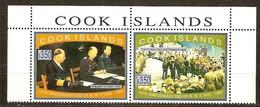 Cook Islands 1995 Yvertn° 1132-1133  *** MNH  Cote 22,00 Euro - Cook