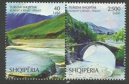 AL 2018-07 TURISM, ALBANIA, 1 X 2v, MNH - Albanien