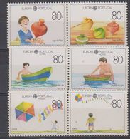 Europa Cept 1989 Portugal, Azores, Madeira 3x2v From  M/s ** Mnh (41830) - 1989