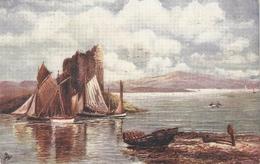 """F.W. Hayes.Stalker Castle"" Tuck Oilette Scottish Castles Ser. PC # 7181 - Tuck, Raphael"