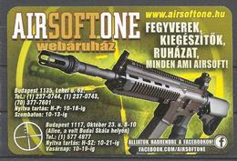 Hungary, Machine Gun, Airsoft One  Ad, 2015. - Calendriers