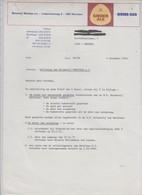 BRASSERIE - GINGER ALE - MERCHTEM - 1976 - Alimentaire