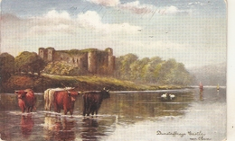 """F.W. Hayes. Dunstaffnage Castle"" Tuck Oilette Scottish Castles Ser. PC # 7181 - Tuck, Raphael"