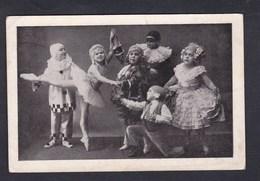 Artistes Le Troupe Des Liliputiens Russes Katia Du Casino De Paris ( Danse Costumes Pierrot Jeune Fille En Tutu ) - Artisti