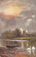 """F.W. Hayes. Inverlochy Castle"" Tuck Oilette Scottish Castles Ser. PC # 7181 - Tuck, Raphael"