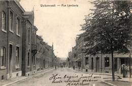 Welkenraedt - Rue Lamberts (animée, Cheval) - Welkenraedt