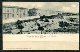 CARTOLINA CV2447 PISA (PI) Veduta Della Marina, Formato Piccolo, Viaggiata 1899, Francobollo Asportato, Ottime Condizion - Pisa
