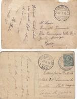 9181-N°. 9 PEZZI POSTA MILITARE 1° GUERRA - 1900-44 Victor Emmanuel III