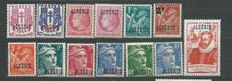 ALGERIE  LOT  N°  225....**  TB  1 - Algérie (1924-1962)