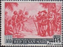 San Marino 470 Postfrisch 1952 Christoph Kolumbus - San Marino