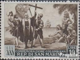 San Marino 469 Postfrisch 1952 Christoph Kolumbus - San Marino