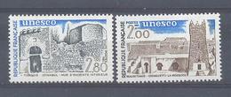 Año 1983 Nº 75/6 UNESCO Patrimonio Universal - Servicio