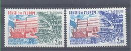 Año 1983 Nº 77/8 Consejo De Europa - Servicio