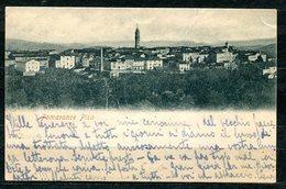 CARTOLINA CV2457 POMARANCE (Pisa PI) Panorama, Formato Piccolo, Viaggiata 1899, Francobollo Asportato, Buone Condizioni - Pisa