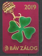Hungary, Four Leaf Clover, Pawnshop Ad, 2019. - Calendars